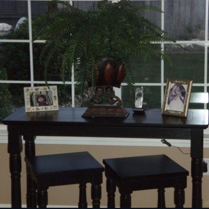Sofa Table & Accessories